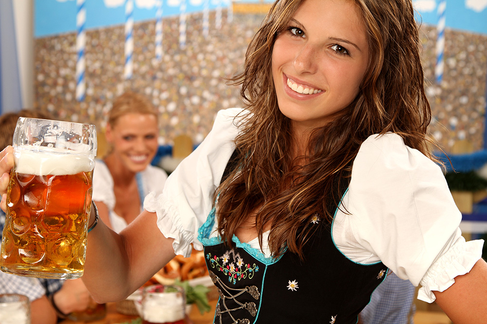 boccale di birra oktoberfest